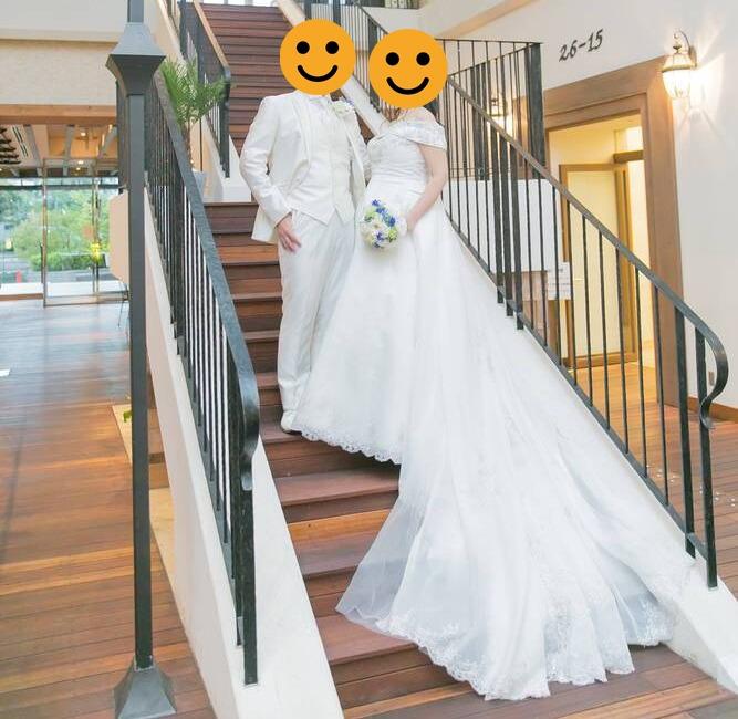 小さな結婚式のフォトウェディング