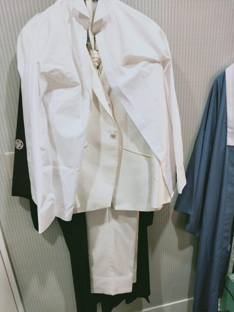 小さな結婚式 品川ベイサイド店 フォトウェディング 男性 洋装 カッターシャツ&タキシード