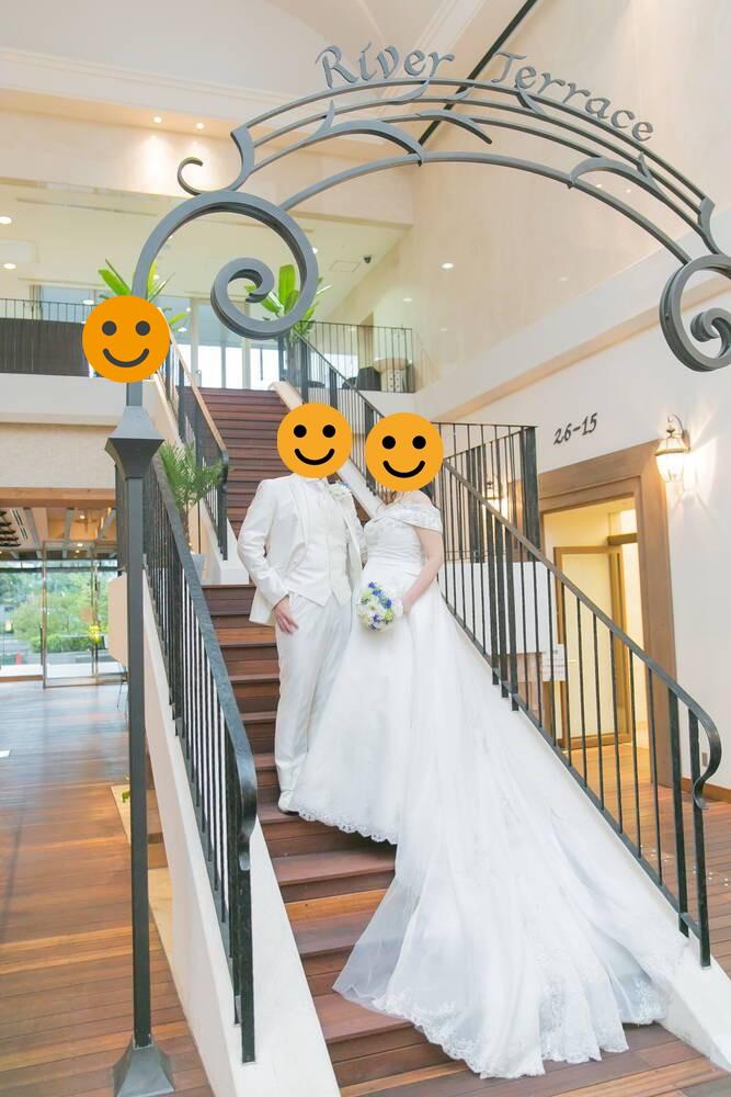 小さな結婚式 品川ベイサイド店 フォトウェディング ウェディングドレス&タキシード(洋装)